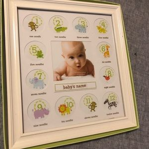 Milestone Picture Frame for Baby